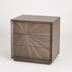 Eucalyptus Burst Bedside Chest - Left