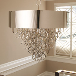 Extra Decorative Chain for Chain Pendant - Nickel