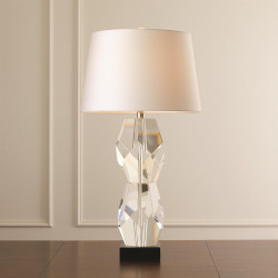 Facet Block Lamp - Double