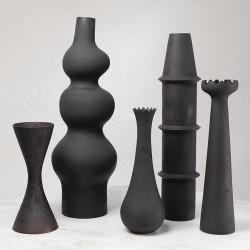 Fenouil Vase - Black