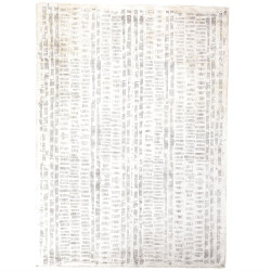 Frequency Rug - Cream/Charcoal - 6 x 9