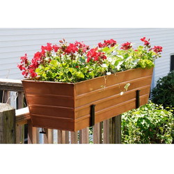 Copper Plated Window Box - Lg