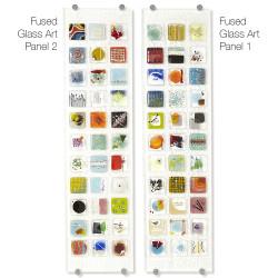 Fused Glass Art Panel 1