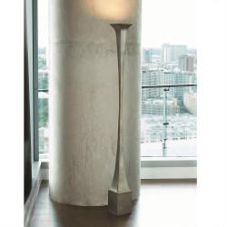Giac Torchiere - White Bronze