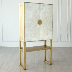 Gypsum Bar Cabinet