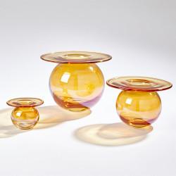 H20 Vase - Luster Orange - Sm