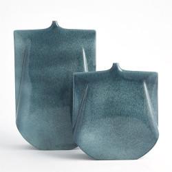 Kimono Vase - Teal - Wide