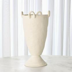 Louis Vase - White