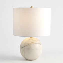 Marble Sphere Lamp