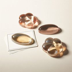 Oval Paperweight - Blush