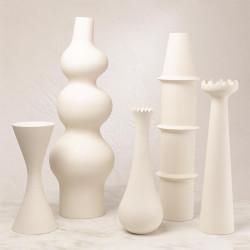 Panisse Vase - Matte White