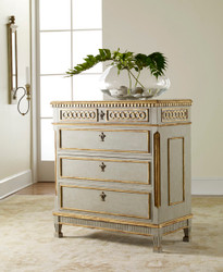Painted Regency Chest