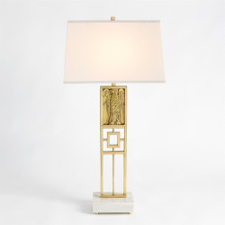 Republic Table Lamp - Brass