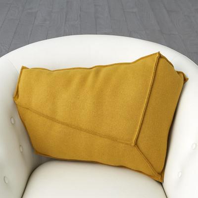 Rock Pillow - Camel - Left