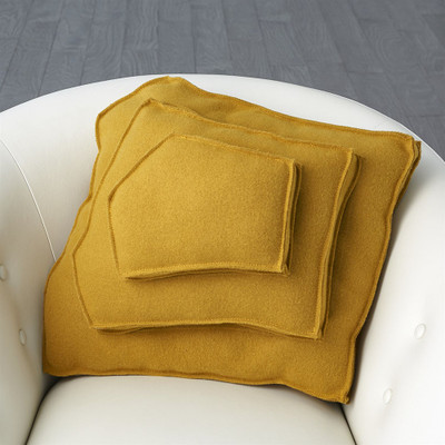 Rock Pillow - Camel - Trapezoid Shape
