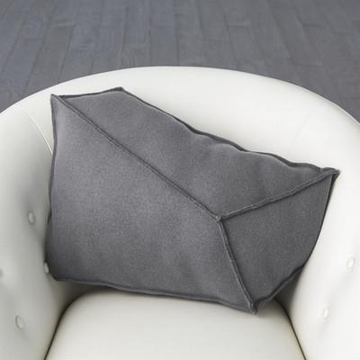 Rock Pillow - Grey - Left