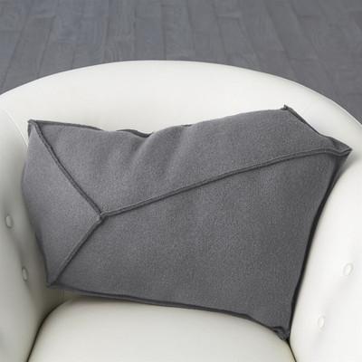 Rock Pillow - Grey - Right