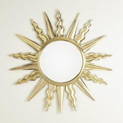 Soleil Mirror - Brass