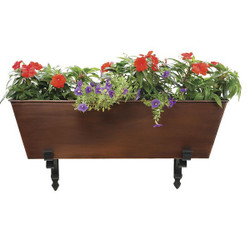 Galvanized Tin Flower Box