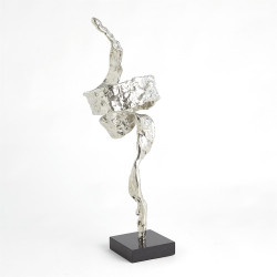 Twist Sculpture - Nickel