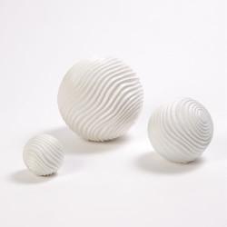 Varenne Sphere - Matte White - Med