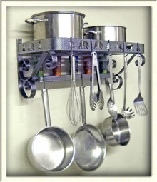Pot & Pan Rack French Style Bear Theme
