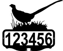 Pheasant Custom Address or Name Sign