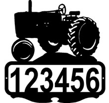 John Deere Tractor Custom Address or Name Sign