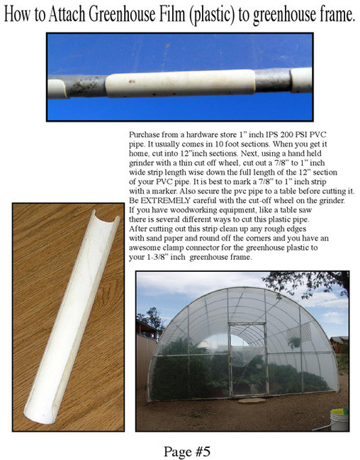 Greenhouse Fitting Kit 10' X 12' (3 Purlin) for 1-3/8
