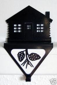 Cabin Stocking Holder Rustic Lodge Decor