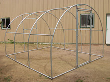 "Greenhouse  Quonset Fitting Kit 12' X 12' for 1-3/8"" top rail tubing (3 Purlin)"