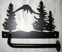 Trees/Forest Toilet Paper Holder