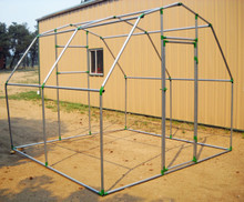 "Gambrel Greenhouse Fitting Kit for 1"" EMT"