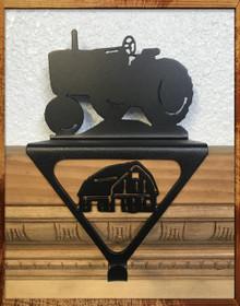 Farm Tractor Christmas Stocking Holder