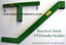 "Truck Receiver Hitch ""DIY BENDER"" Holder"