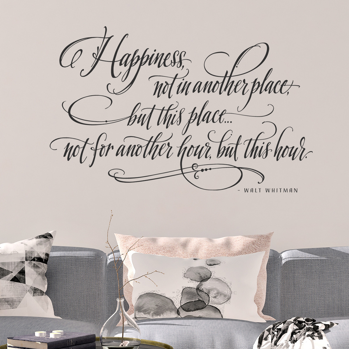 Walt Whitman Quotes | Happiness Quotes Walt Whitman Happy Wall Decals