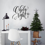 O holy night wall decal