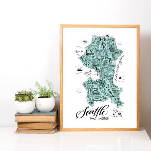 Map of Seattle Neighborhoods - Lifestyle