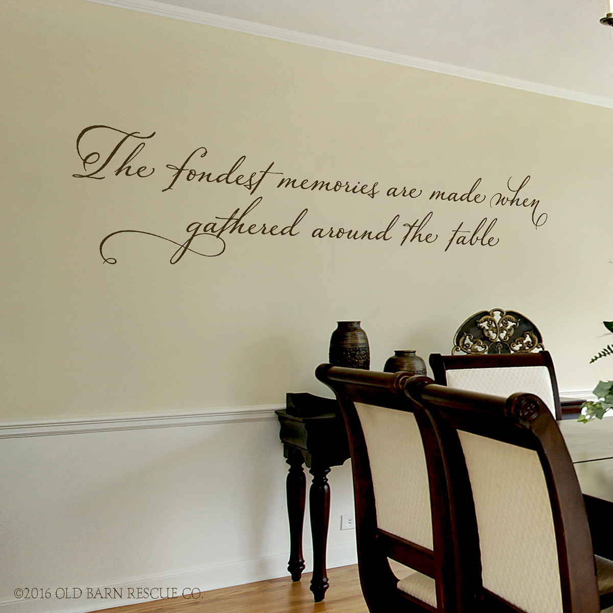 Beautiful quotes wall decal - The Fondest Memories are made