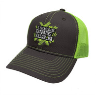 Trucks Gone Wild Logo Hat Green/Grey
