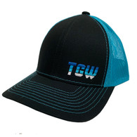 TGW Multi Color Letter Logo Hat Blue