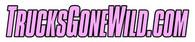 """PINK TrucksGoneWild.com 12"""" Sticker"""