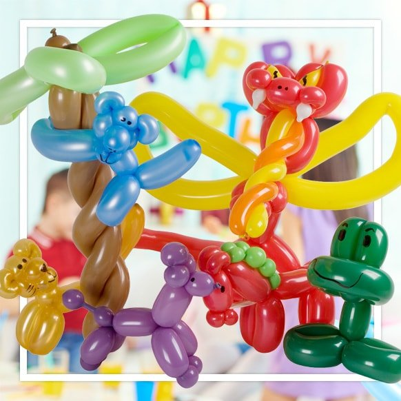 photograph about Balloon Modelling Instructions Printable called Balloons published balloons personalized latex and mylar balloons
