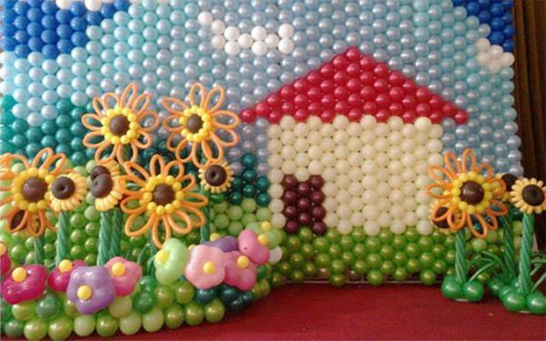 Balloon Grids Gridz To Make Balloon Wall