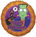 """18"""" Frankenstein Helium Foil Balloons  (5 Pack) #88027"""