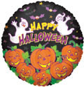 "18"" Many Pumpkins Helium Foil Balloons  (5 Pack)#88019"
