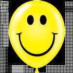 "11"" Tuf Tex Smile Print Latex Balloons 100ct #77808"