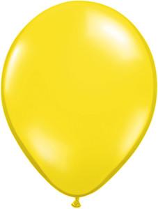 "11"" Qualatex Jewel Citrine Yellow 100ct"