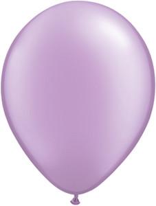 "11"" Qualatex Pearl Lavender Latex Balloons 100ct #43778"
