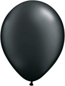 pearl onyx black balloons